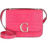 Guess Crossbody Bags - Corily Convertible Flap Crossbody Bag - in pink - für Damen