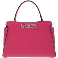 Guess Satchel Bag - Uptown Chic Turnlock Satchel - in pink - für Damen
