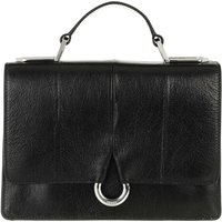 Hugo Satchel Bag - Frida Saddle - in schwarz - für Damen