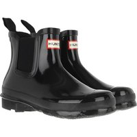 Hunter Boots & Stiefeletten - Womens Original Chelsea Gloss - in schwarz - für Damen