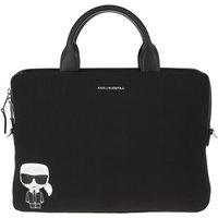 Karl Lagerfeld Laptoptaschen - Ikonik Laptop Sleeve Strap - in schwarz - für Damen