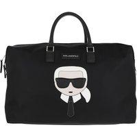Karl Lagerfeld Reisegepäck - Iikonik Nylon Weekender - in schwarz - für Damen