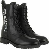 Love Moschino Boots & Stiefeletten - Boots Gomma 40 Vitello - in schwarz - für Damen