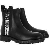 Love Moschino Boots & Stiefeletten - Sca Nod Gommac40 Vitello - in schwarz - für Damen
