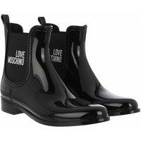 Love Moschino Boots & Stiefeletten - Sca Nod Rainboot30 Pvc - in schwarz - für Damen
