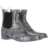 Love Moschino Boots & Stiefeletten - Sca Nod Rainboot30 Pvcst Logo - in schwarz - für Damen