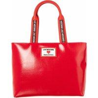 Love Moschino Crossbody Bags - Borsa Canvas+Pu - in rot - für Damen