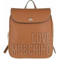Love Moschino Rucksack - Borsa Pu - in cognac - für Damen