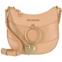 Love Moschino Satchel Bag - Borsa Grain Pu+Pu - in beige - für Damen