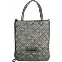 Love Moschino Satchel Bag - Borsa Quilted  Pu - in silber - für Damen
