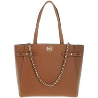 Michael Kors Tote - Large Belted Tote  Leather - in cognac - für Damen