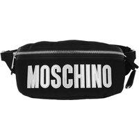 Moschino Bauchtaschen - Belt Bag Nylon Logo - in schwarz - für Damen