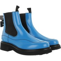 Off-White Boots & Stiefeletten - Calf Chealsea Boot - in blau - für Damen