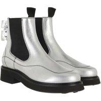 Off-White Boots & Stiefeletten - Laminate Chelsea Boot - in silber - für Damen