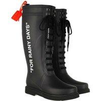 Off-White Boots & Stiefeletten - Rain Boot - in schwarz - für Damen