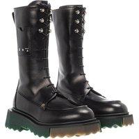 Off-White Boots & Stiefeletten - Sponge Pocket Combat Boot - in schwarz - für Damen