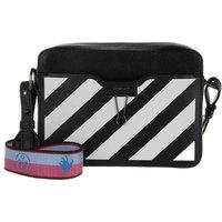 Off-White Crossbody Bags - Diag Camera Bag Black White - in schwarz - für Damen