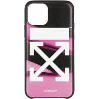 Off-White Handyhüllen - Arrow Liquid Melt 11Pro Cover - in pink - für Damen