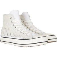 Palm Angels Sneakers - Fringe Basket High Vulcanized - in weiß - für Damen