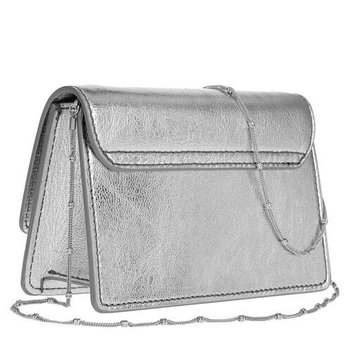 Patrizia-Pepe-Crossbody-Bags-Mini-Shoulder-Bag-Piping-Metallic-Logo-in-silber-fuer-Damen-25681849233-1