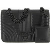 Prada Crossbody Bags - Diagramme Crossbody Bag - in schwarz - für Damen