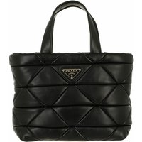 Prada Satchel Bag - System Handle Bag Leather - in schwarz - für Damen