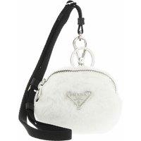 Prada Schlüsselanhänger - Mini Zipped Pouch - in weiß - für Damen