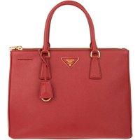 Prada Tote - Borsa A Mano Saffiano Lux - in rot - für Damen