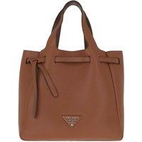 Prada Tote - Handle Bag Leather - in cognac - für Damen