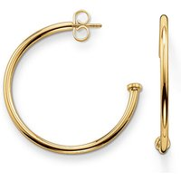 Thomas Sabo Ohrringe - Hoop Earrings For Beads Medium - in gold - für Damen