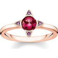 Thomas Sabo Ring - Ring Colourful Stones - in rosa - für Damen