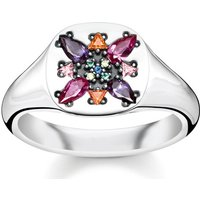 Thomas Sabo Ring - Ring Colourfull Stones - in silber - für Damen