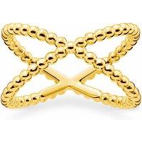 Thomas Sabo Ring - Ring Dots - in gold - für Damen