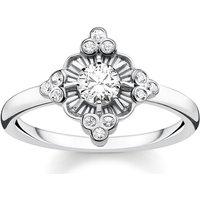 Thomas Sabo Ring - Ring Royalty - in weiß - für Damen