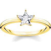 Thomas Sabo Ring - Ring Sparkling Star - in gold - für Damen