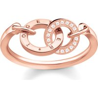 Thomas Sabo Ring - Ring Together - in rosa - für Damen