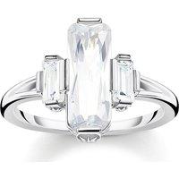 Thomas Sabo Ring - Ring White Stones - in weiß - für Damen