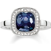 Thomas Sabo Ring - Solitaire Ring Cosmo - in blau - für Damen