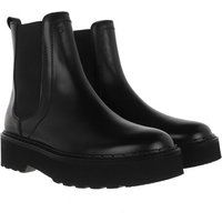 Tod's Boots & Stiefeletten - Ankle Boots Leather - in schwarz - für Damen
