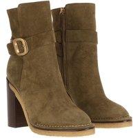 Tod's Boots & Stiefeletten - Block Heeled Boots - in grün - für Damen