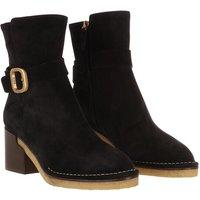 Tod's Boots & Stiefeletten - Buckle Strap Ankle Boots Suede - in schwarz - für Damen