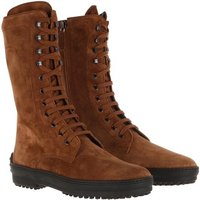 Tod's Boots & Stiefeletten - Gommino Ankle Boots - in braun - für Damen