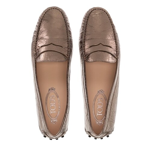 Tods-Loafers-Ballerinas-Gommini-Mocassino-in-gold-fuer-Damen-28858862693-1