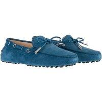 Tod's Loafers & Ballerinas - Gommino Loafer Suede - in blau - für Damen