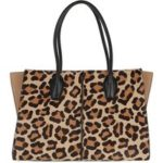 Tod's Tote – Leopard Holly Medium Tote Bag – in bunt – für Damen